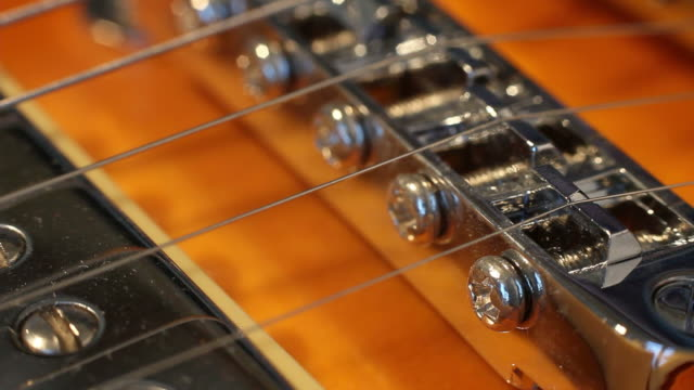 playing Electric guitar chords