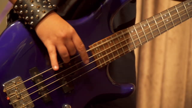 playing guitar - flamenco stock videos and b-roll footage