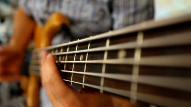 playing guitar - rock music stock videos & royalty-free footage