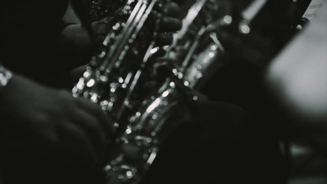 playing live jazz concert: saxophone - jazz stock videos & royalty-free footage