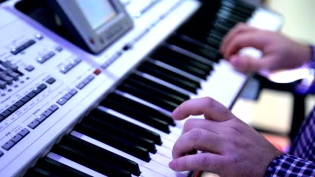 Playing Piano, Keyboard