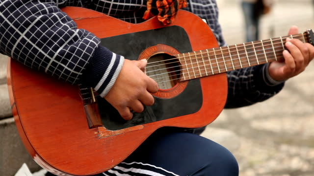playing spanish guitar - spanish culture stock videos & royalty-free footage