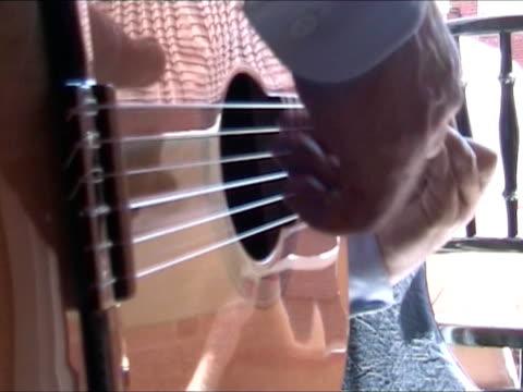 playing spanish guitar - flamenco dancing stock videos & royalty-free footage