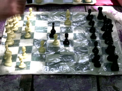 playing speed chess - chess stock videos & royalty-free footage