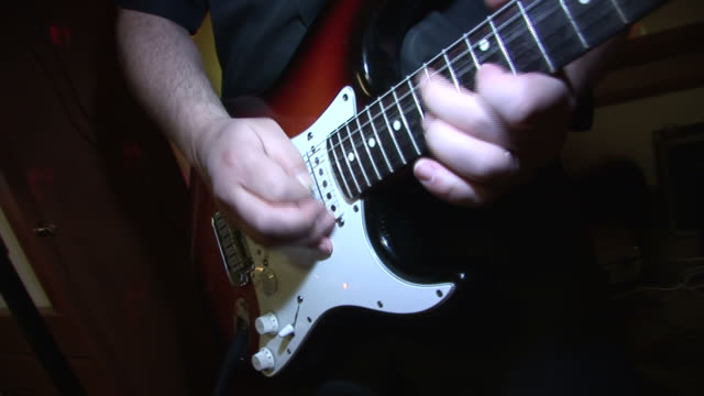 hd: playing the guitar - early rock & roll stock videos & royalty-free footage