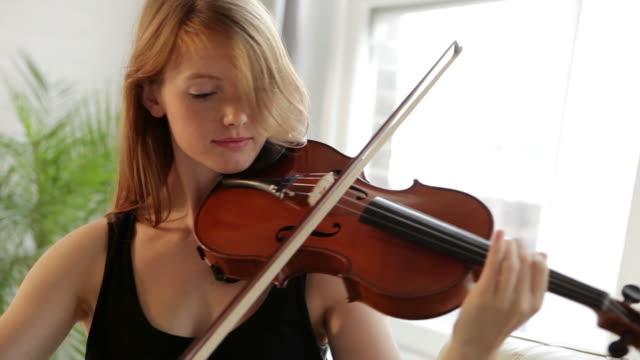 playing violin            mu - violin stock videos & royalty-free footage