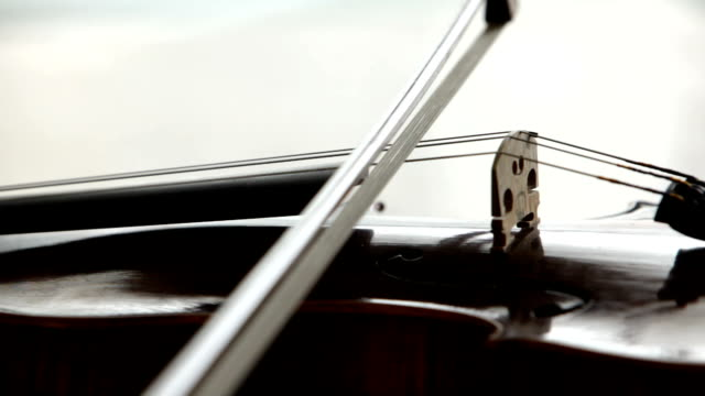 playing violin - violin stock videos & royalty-free footage