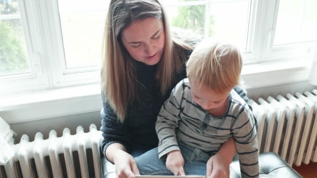 playing with mommy - best time of the day teaching my son - part of a series stock videos & royalty-free footage
