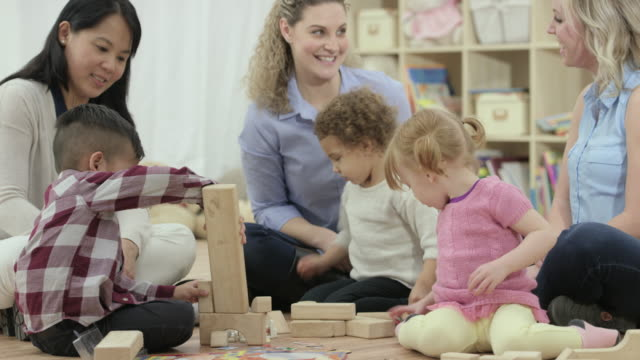 playtime - child care stock videos & royalty-free footage
