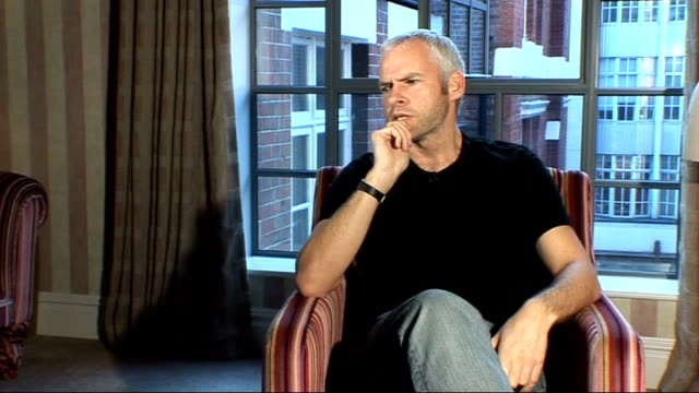 playwright martin mcdonagh interview; martin mcdonagh interview continued sot - scriptwriter stock videos & royalty-free footage