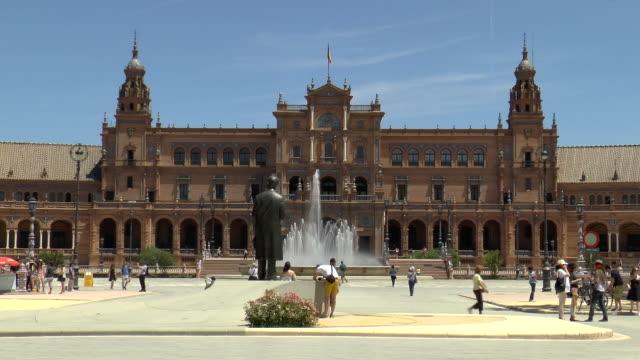 Plaza de España-Sevilla, Spanien
