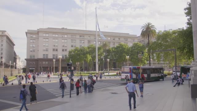 マヨ・ブエノスアイレス広場 - スクエア点の映像素材/bロール