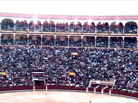 plaza de toros las ventas, madrid - bullfighter stock videos & royalty-free footage