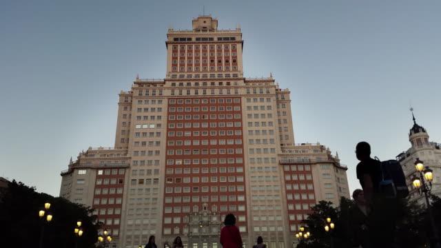 plaza españa madrid edificio españa