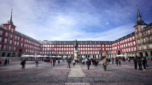 Plaza Alcalde de Madrid, España