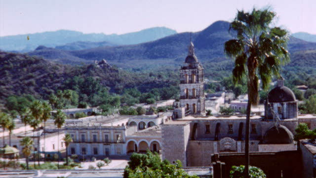 Plaza Zaragoza at City Center on October 01 1958 in Hermosillo Mexico