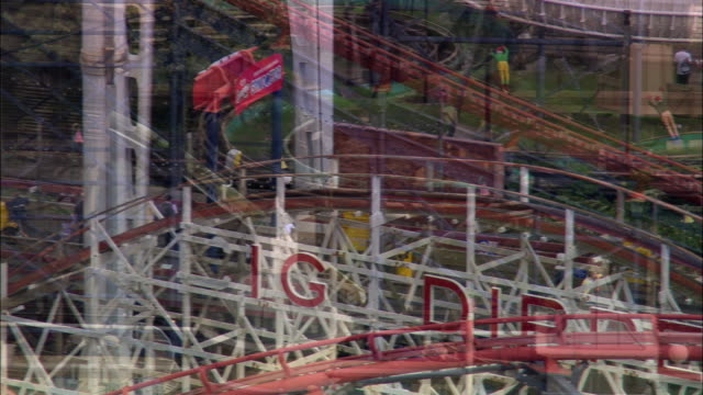 pleasure beach, blackpool - blackpool stock-videos und b-roll-filmmaterial