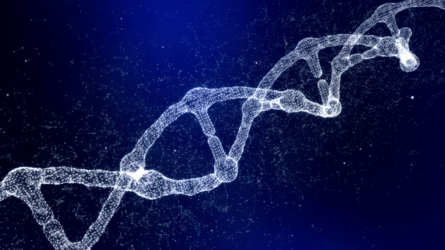 plexus dna molecule model - helix model stock videos & royalty-free footage