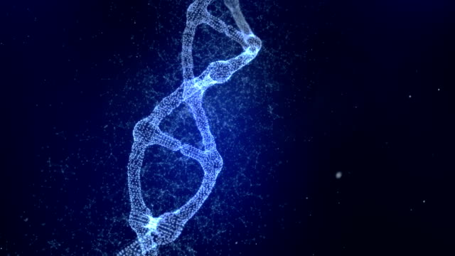 plexus dna molecule model - helix model stock videos and b-roll footage