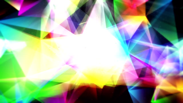 plexus shiny background motion loop - multi colored background stock videos & royalty-free footage