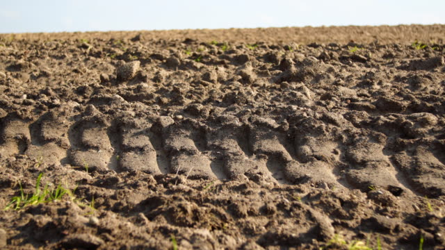 ploughed field - plowed field stock videos and b-roll footage