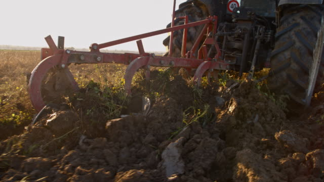 SLO MO Plow turning over the soil