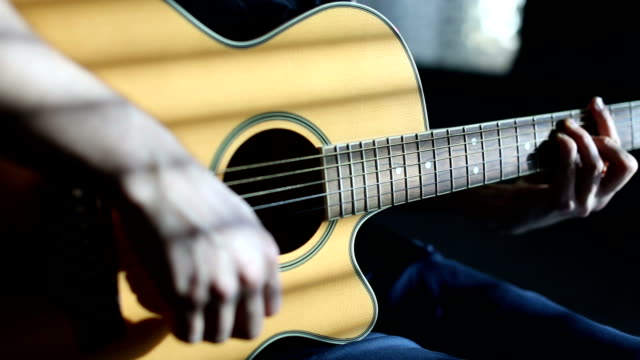 plugging in the guitar - plugging in stock videos & royalty-free footage