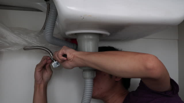 Plumber at home