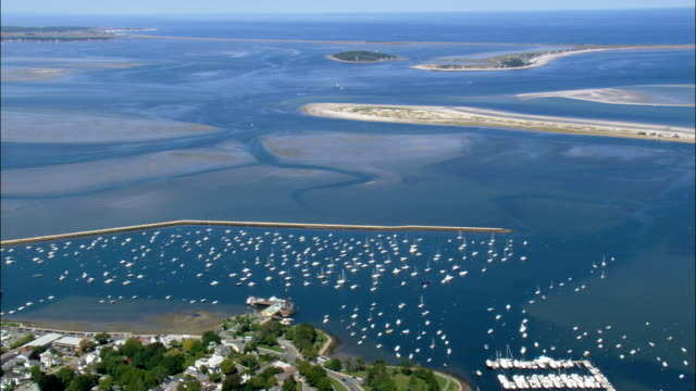 Plymouth  - Aerial View - Massachusetts,  Plymouth County,  United States