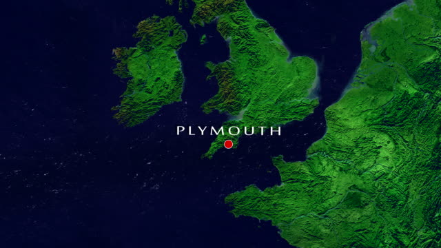 plymouth-zoom in - massachusetts stock-videos und b-roll-filmmaterial