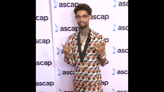 PnB Rock at the 2018 ASCAP Rhythm Soul Music Awards