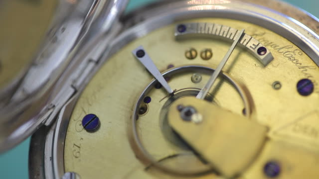 pocket watch detail - pocket watch stock videos & royalty-free footage