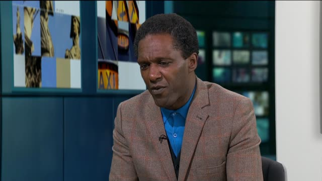 poet lemn sissay provides insporation for christmas meals hosted for young people leaving care; london: gir: sissay live interview continues sot - poet stock videos & royalty-free footage