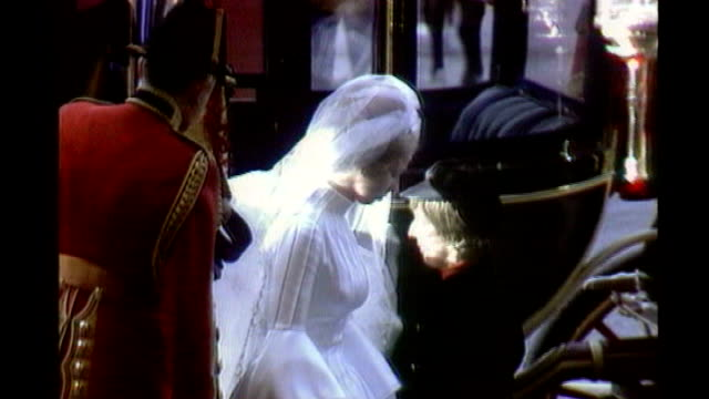 poet laureate row **john betjeman poem read over following** princess anne wedding ceremony - 1973 stock videos & royalty-free footage