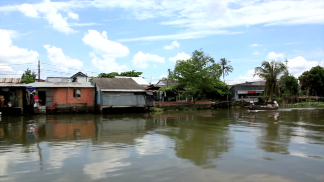 Point Of View Boat Ride in Mekong Delta, Vietnam