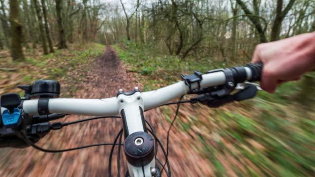 Point of view mountain biking