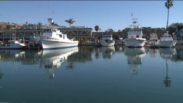 kswb point of view of boat docking in oceanside - oceanside stock videos and b-roll footage