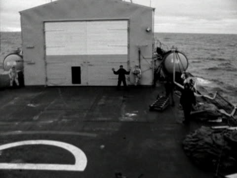 point of view shot from an raf helicopter as it comes into land on the deck of a ship - falkland islands stock videos and b-roll footage
