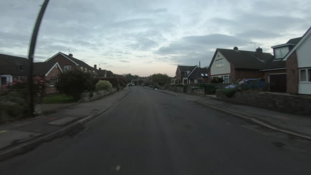 point of view shot of driving through nottinghamshire - nottinghamshire stock videos & royalty-free footage