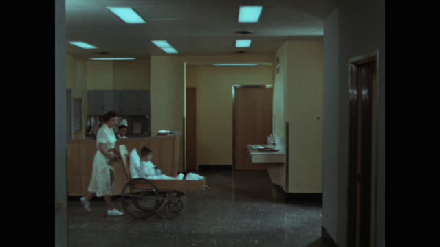 point of view shot of medical staff at hospital lobby - corridor stock videos & royalty-free footage