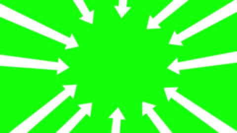 stockvideo's en b-roll-footage met aanwijzer pijlen, time lapse stop beweging, chroma key, stock video - arrow symbol