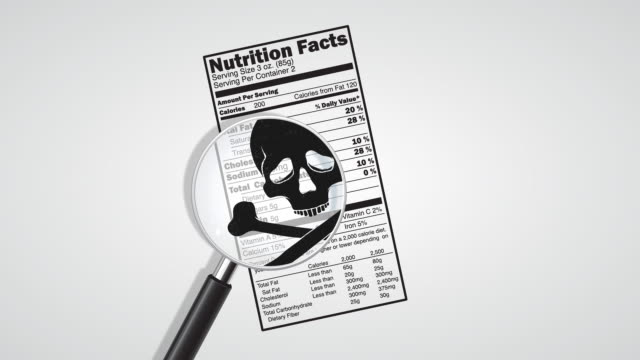 Poison in nutrition facts