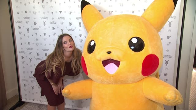 pokemon afternoon soiree at sunset tower hotel on february 27, 2016 in west hollywood, california. - pokémon stock videos & royalty-free footage