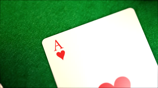 poker aces - ace stock videos and b-roll footage