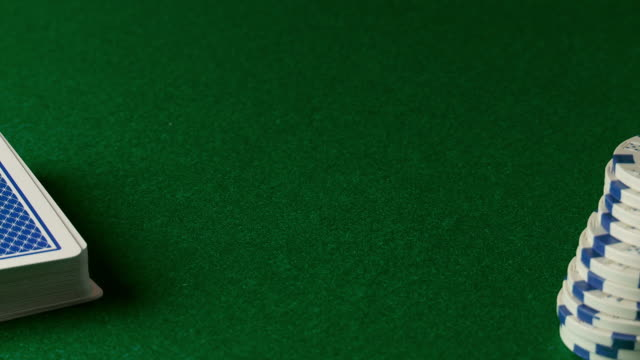 poker chips being thrown onto table - gambling chip stock videos and b-roll footage