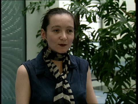 london gir int demelza stubbings interview sot not just one person in a government responsible for genocide - genocide stock videos & royalty-free footage