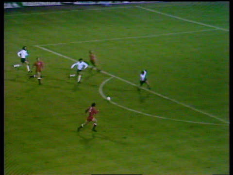 poland striker grzegorz lato passes to jan domarski who strikes low shot under england goalkeeper peter shilton giving poland 1 0 lead during crucial... - poland stock videos & royalty-free footage