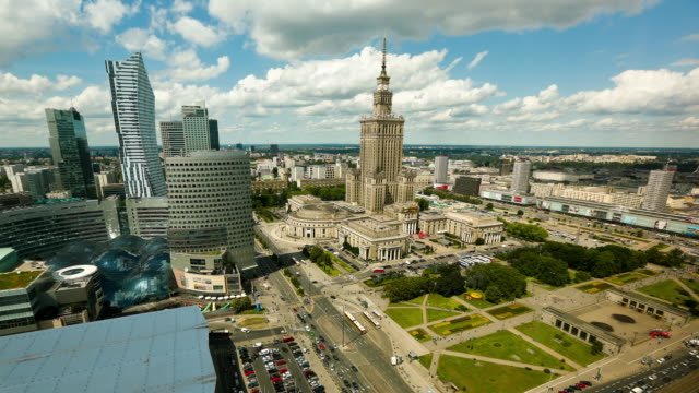 poland time lapse - warsaw stock videos & royalty-free footage