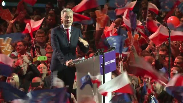 poland's first openly gay politician launches spring a progressive political party aimed at challenging the eu country's governing right wing party - governmental occupation stock videos & royalty-free footage