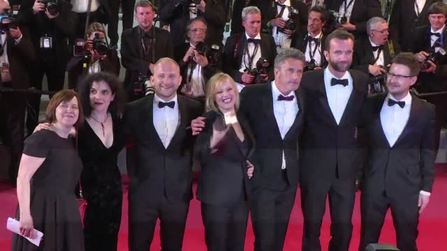 poland's pawel pawlikowski wins the best director award at the cannes film festival for his love story cold war a black and white period romance set... - 71st international cannes film festival stock videos & royalty-free footage